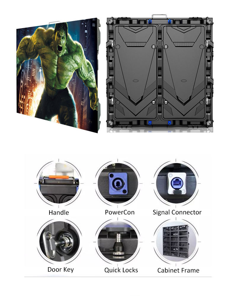 Serie Unit S960 pantalla LED gigante